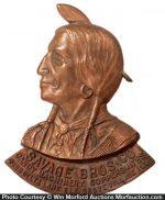 Savage Bros. Bronze Plaque