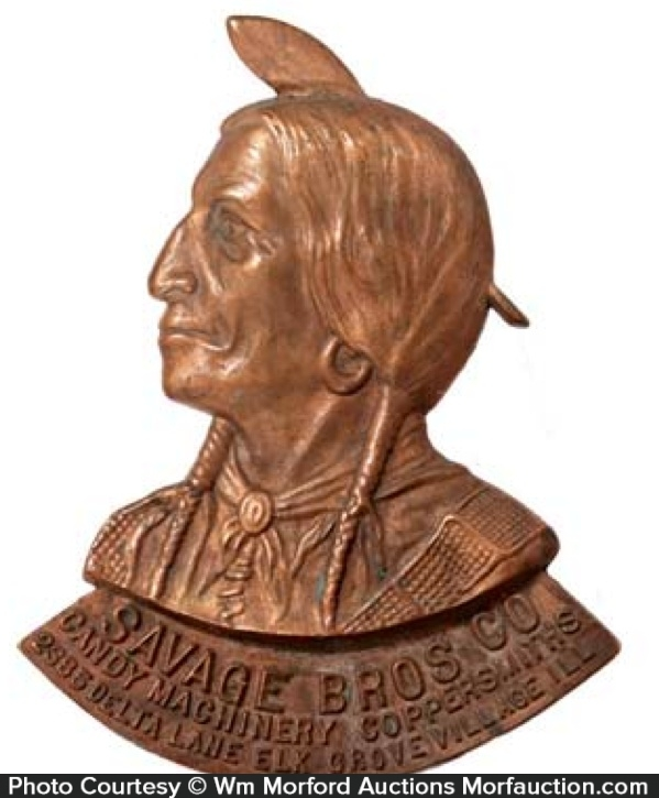 Savage Bros. Bronze Plaque