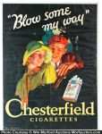 Chesterfield Cigarettes Poster