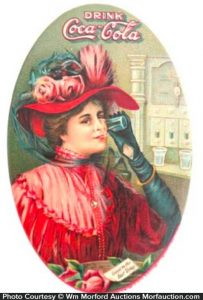 1908 Coca-Cola Mirror