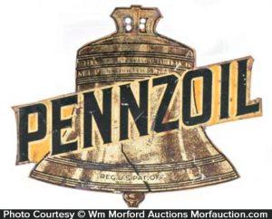 Pennzoil Radiator Sign