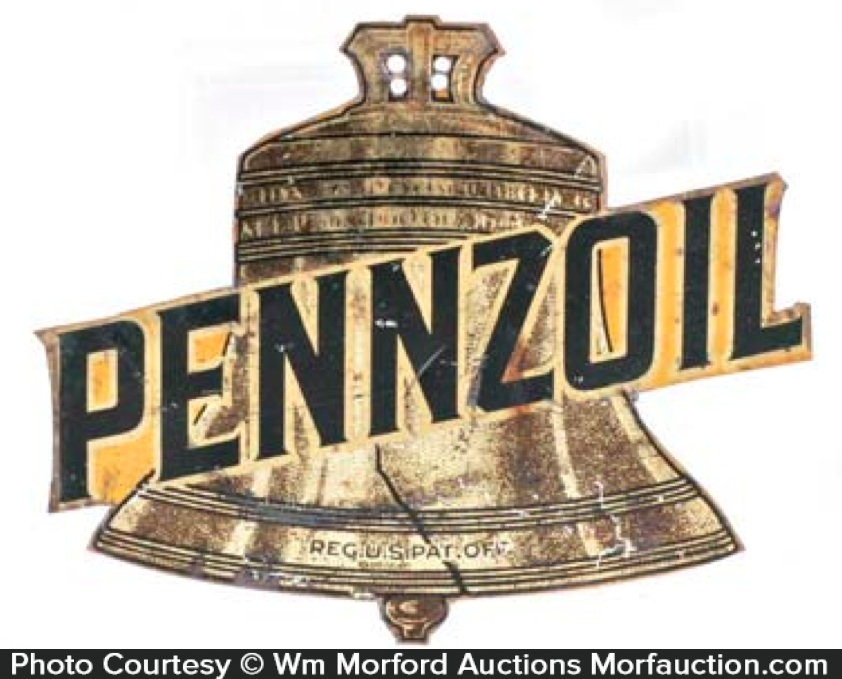 Pennzoil Radiator Sign