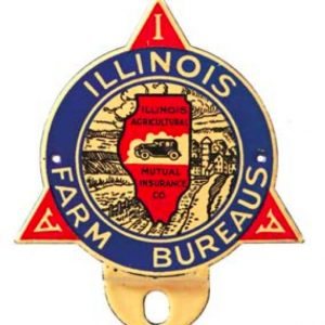 Illinois Farm Bureau Bumper Tag