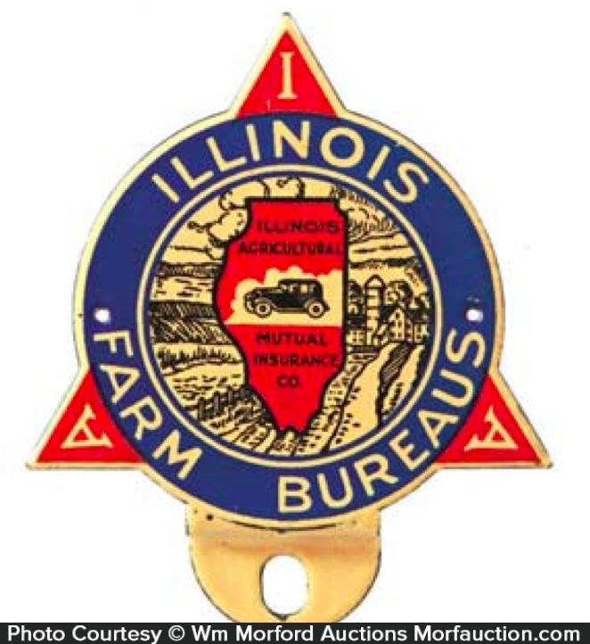 Illinois Farm Bureau Bumper Tag