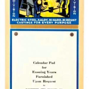 Kay Brunner Steel Calendar