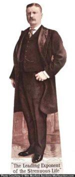 Teddy Roosevelt Moxie Sign