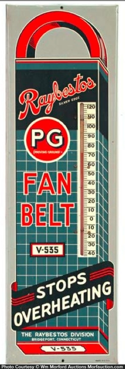 Raybestos Pg Fan Belt Thermometer