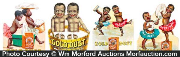 Gold Dust Washing Powder Die-Cuts