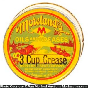 Moreland's Grease Tin