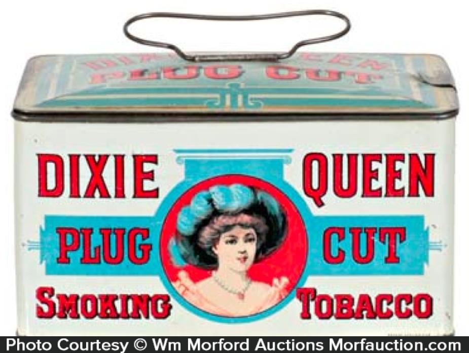 Dixie Queen Tobacco Tin