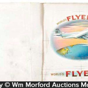 Flyer Cigar Labels Proof Book