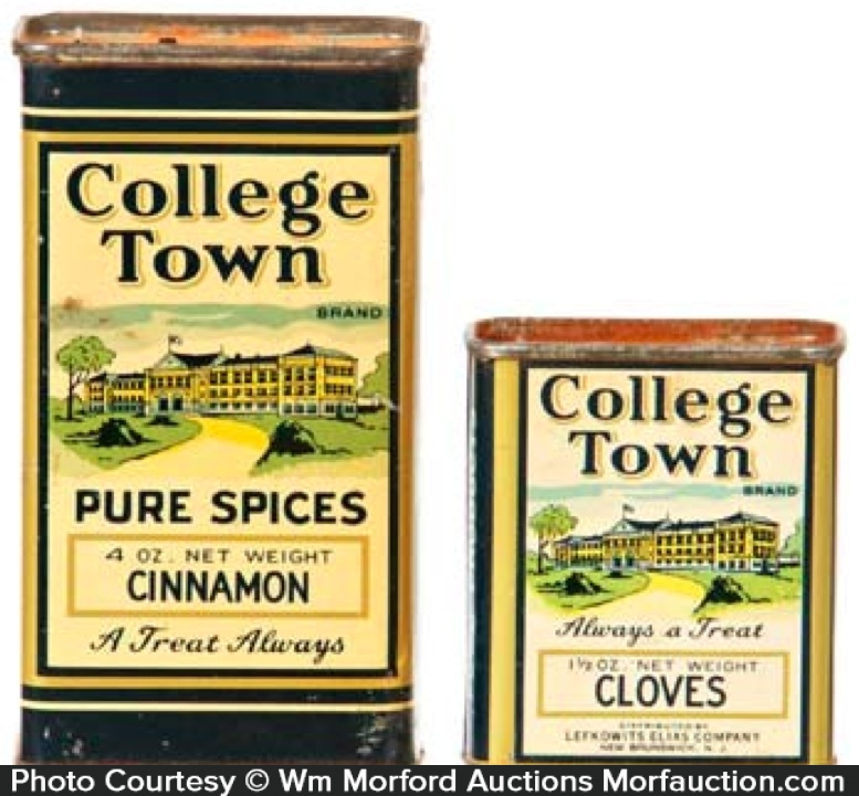 College Town Spice Tins
