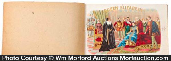 Queen Elizabeth Cigar Labels Book