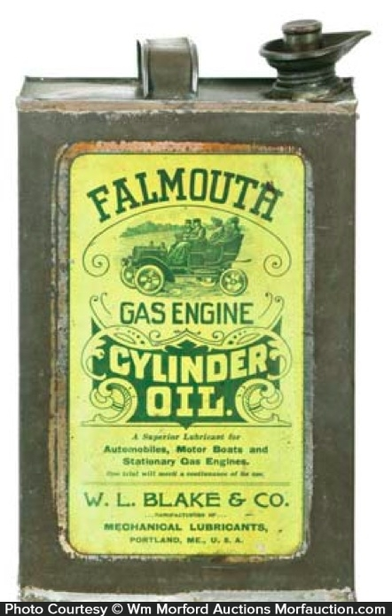Falmouth Cylinder Oil Can