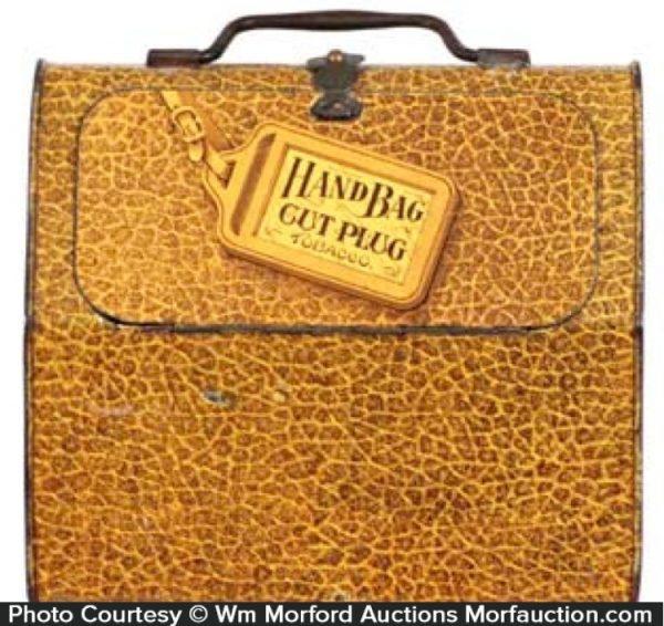 Hand Bag Tobacco Tin