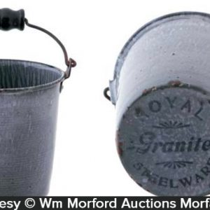 Miniature Royal Graniteware Pail