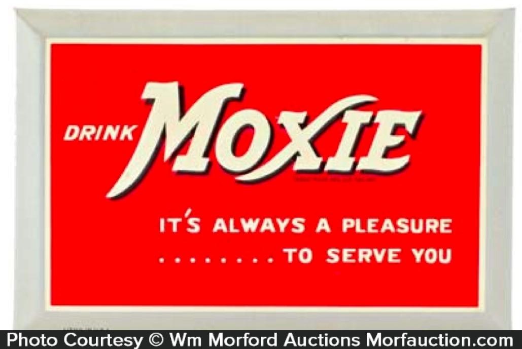 Moxie It's Always A Pleasure Sign