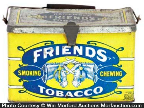 Friends Tobacco Tin Lunchbox