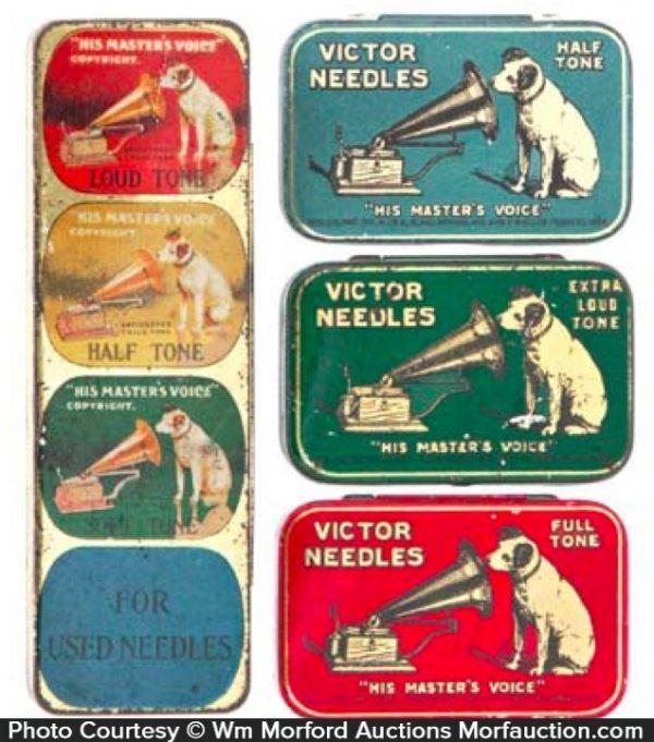 Victor Needle Tins