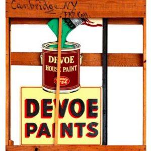 Devoe Paints Sign