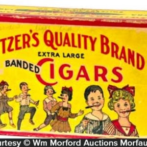 Switzer's Candy Cigars Box