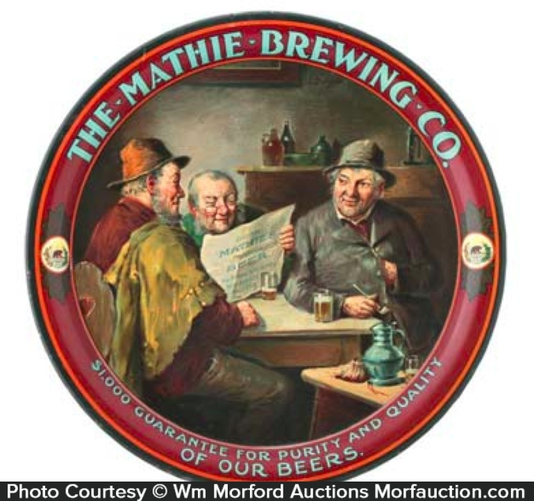 Mathie Brewing Beer Tray