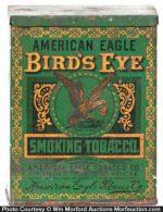Bird's Eye Tobacco Tin