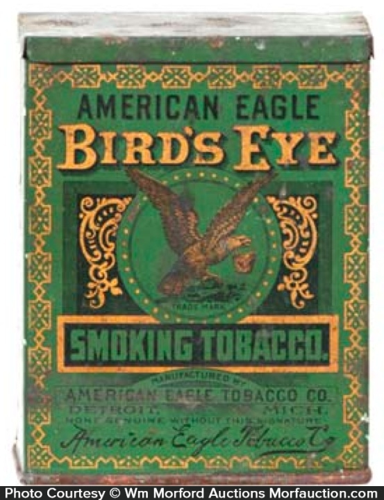 Bird's Eye Tobacco Tin