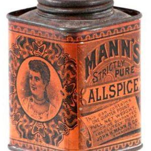 Mann's Spice Tin