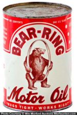 Bear Ring Oil Can