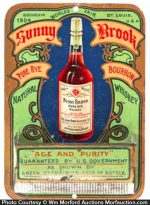 Sunny Brook Whiskey Match Holder