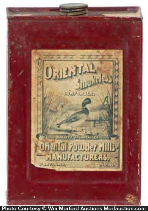 Oriental Gun Powder Tin
