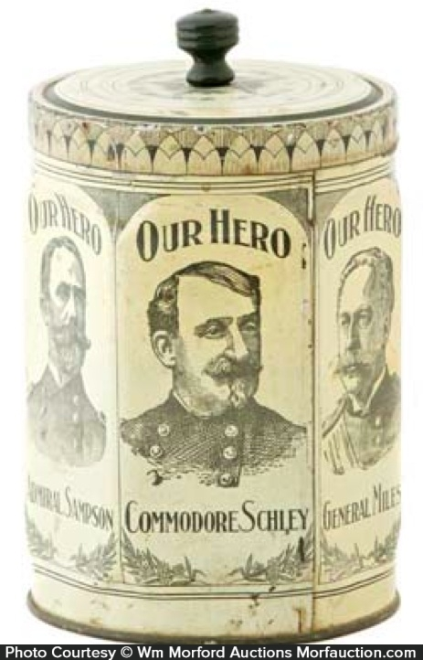 Our Hero Coffee Can