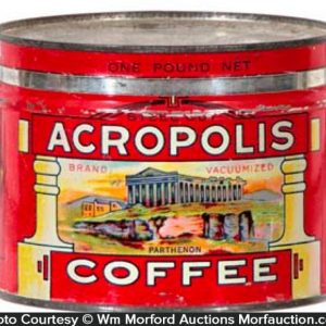 Acropolis Coffee Can