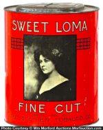 Sweet Loma Tobacco Bin