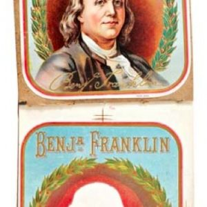 Ben Franklin Cigar Labels Book