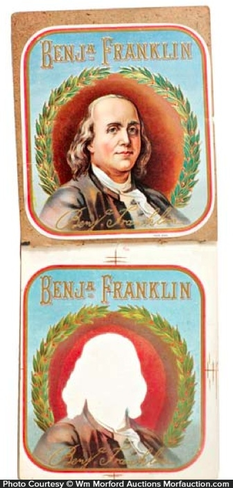 Ben Franklin Cigar Labels Book