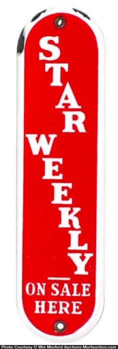 Star Weekly Door Push