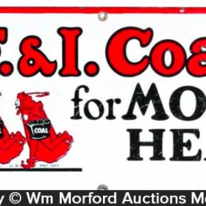 C.F.&I Coal Sign