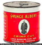 Prince Albert Key Wind Tobacco Tin