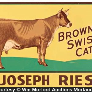 Joseph Ries Cattle Sign
