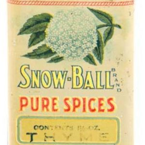 Snow-Ball Spice Tin