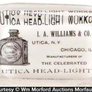 Utica Head-Light Paperweight