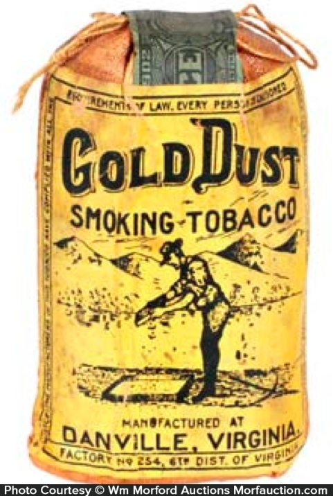 Gold Dust Tobacco Pouch