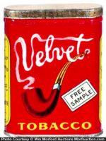 Velvet Tobacco Sample Tin