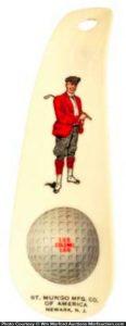 Golf Ball Shoe Horn