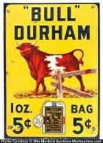 Bull Durham Tobacco Sign