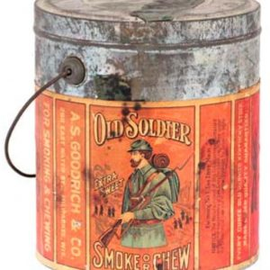 Old Soldier Tobacco Pail