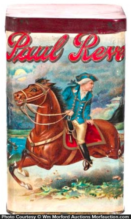 Paul Revere Cigar Tin