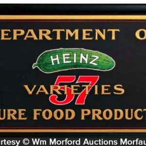 Heinz 57 Varieties Sign